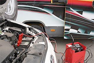 Зарядка акумулятора автомобіля